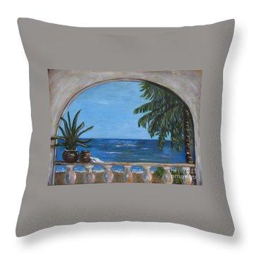 Cabo Arch #2 Throw Pillow