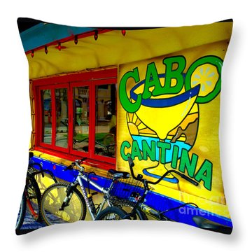 Cabo Cantina - Balboa Throw Pillow
