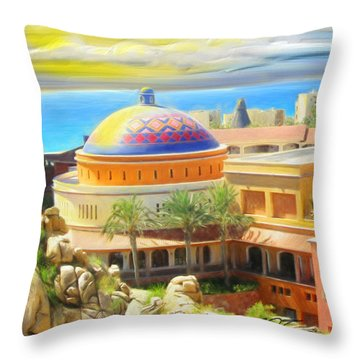 Cabo Condo Throw Pillow