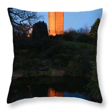 Cabot Tower, Bristol Throw Pillow