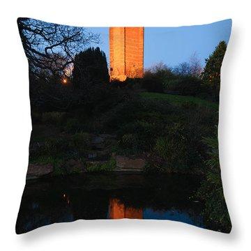 Cabot Tower, Bristol Throw Pillow