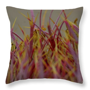Throw Pillow featuring the photograph Cacti by Rod Wiens