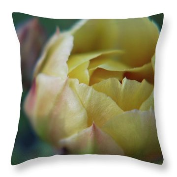 Cactus Beauty Throw Pillow