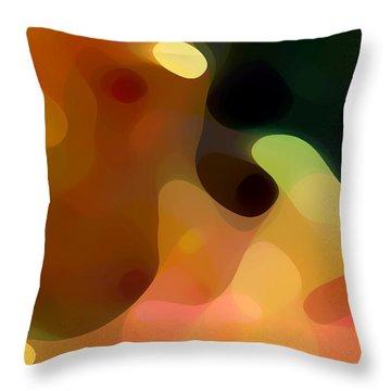 Cactus Fruit Throw Pillow by Amy Vangsgard