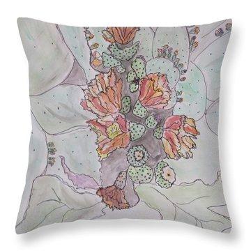 Cactus Voices  #1 Throw Pillow