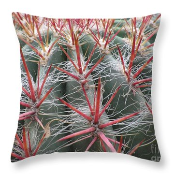 Cactus01 Throw Pillow
