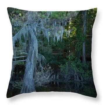 Caddo Lake #1 Throw Pillow