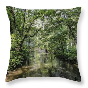 Cades Creek Throw Pillow