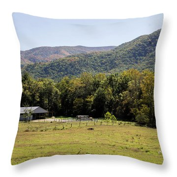 Cades Place Throw Pillow
