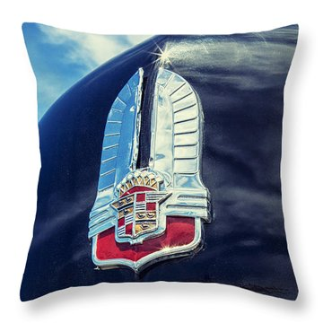 Cadillac Throw Pillow by Caitlyn Grasso