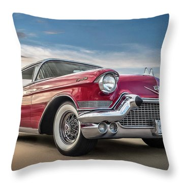 Throw Pillow featuring the digital art Cadillac Jack by Douglas Pittman