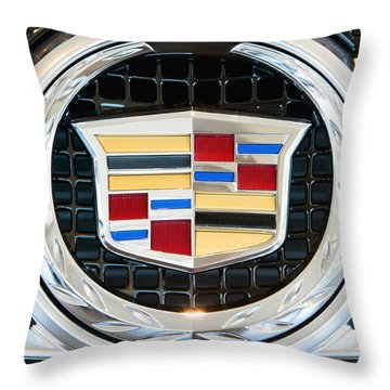 Cadillac Quality Throw Pillow