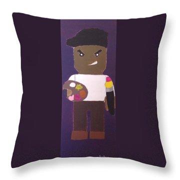 Cadmium Artisto Throw Pillow