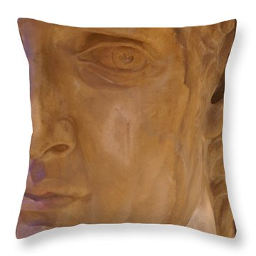 Throw Pillow featuring the photograph Caesar by Cynthia Powell