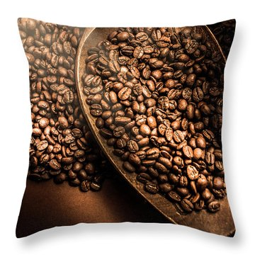 Cafe Aroma Art Throw Pillow
