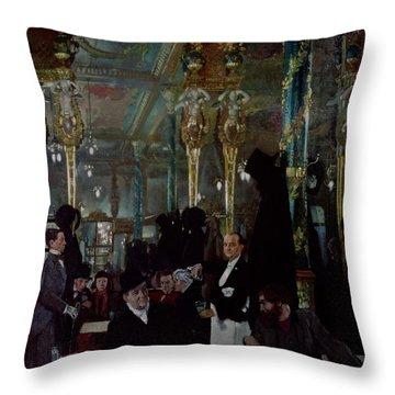 Cafe Royal, London, 1912 Throw Pillow