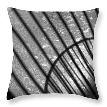 Cafescape II Throw Pillow