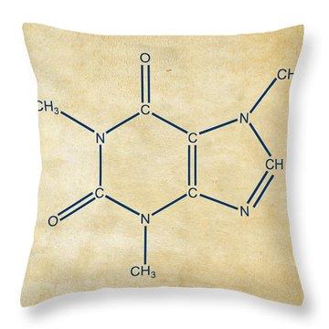 Schematic Throw Pillows