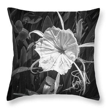 Cahaba Lily Throw Pillow