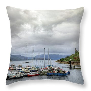 Caisteal Maol - Isle Of Skye Throw Pillow