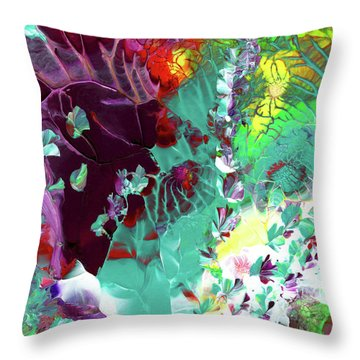 Cajun River Wild Throw Pillow