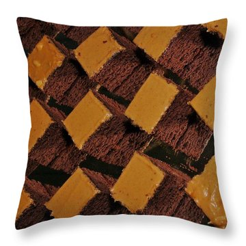 Cakes 2 Throw Pillow