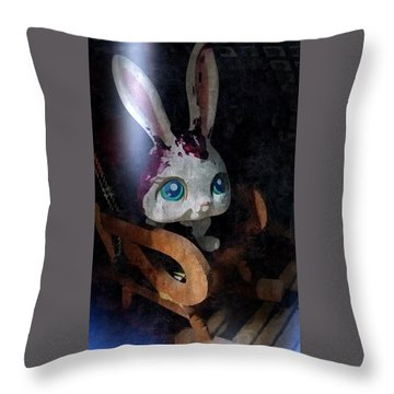Throw Pillow featuring the photograph Calamitous  by Steven Richardson