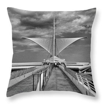 Calatrava Wings Throw Pillow
