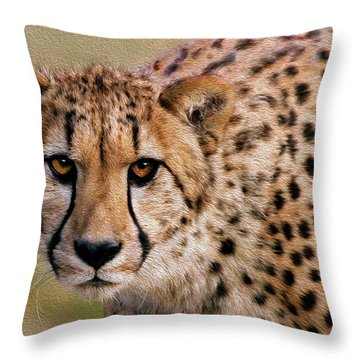 Calculated Look Throw Pillow