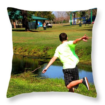 Caleb Throw Pillow
