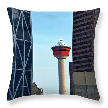 Calgary 1 Throw Pillow