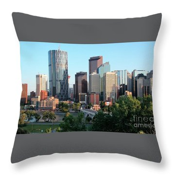 Calgary 2 Throw Pillow