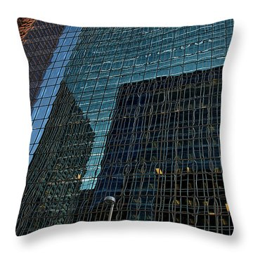 Calgary 8 Throw Pillow