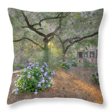 Calhoun Square  Throw Pillow