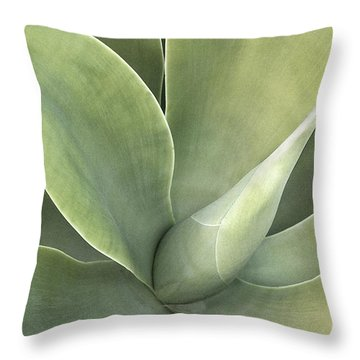 Cali Agave Throw Pillow