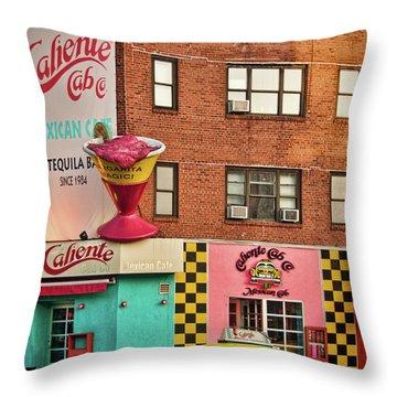 Caliente Cab Throw Pillow