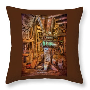 California Pellet Mill Co Throw Pillow