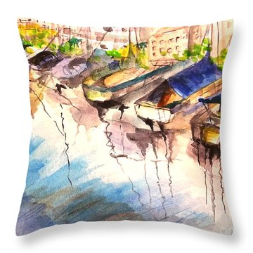 California Afernoon Throw Pillow