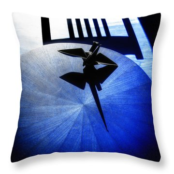 Throw Pillow featuring the photograph California Blue by Wayne Sherriff