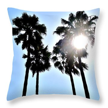 California Throw Pillow by Christopher Woods