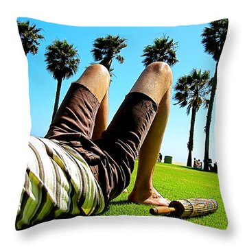 Venice Beach Throw Pillows