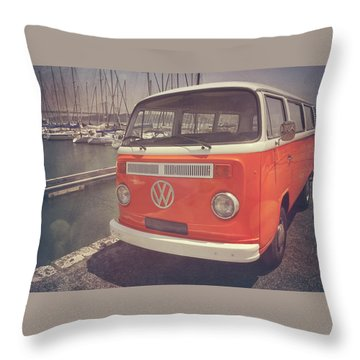 California Dreaming Throw Pillow by Carol Japp