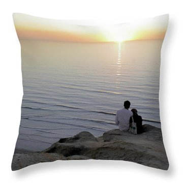 California Dreaming Throw Pillow by Christine Till