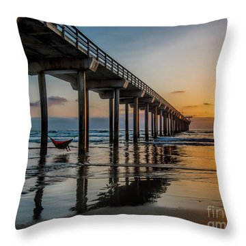 California Dream'n Throw Pillow
