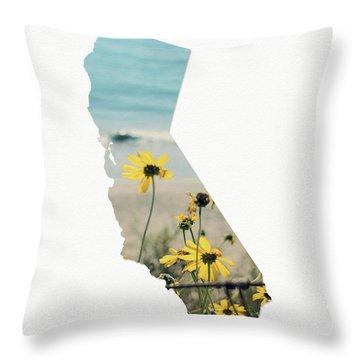 California Dreams Art By Linda Woods Throw Pillow