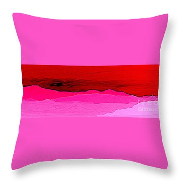 California Horizon Throw Pillow