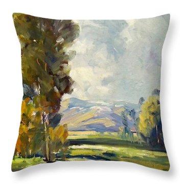 California Landscape 1 Throw Pillow