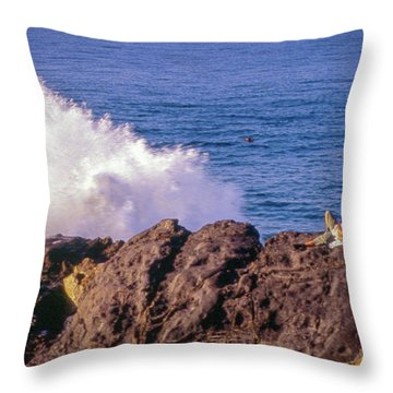Throw Pillow featuring the photograph California Morning by Samuel M Purvis III