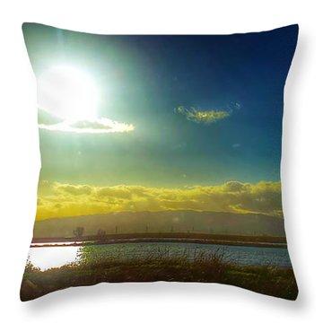 California Skies Throw Pillow
