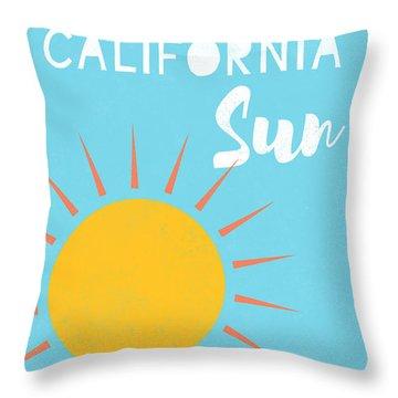 California Sun- Art By Linda Woods Throw Pillow
